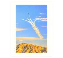 Bombs Bursting In Air Art Print