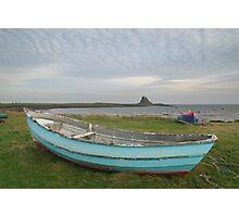 Across Lindisfarne Photographic Print