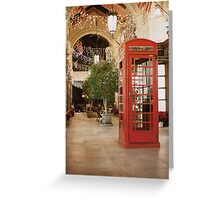 Inspector Spacetime! Greeting Card