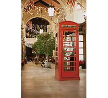 Inspector Spacetime! Photographic Print