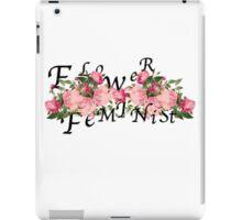 flower feminist iPad Case/Skin