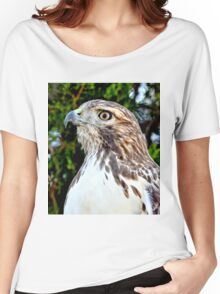 Red Tailed Hawk Women's Relaxed Fit T-Shirt