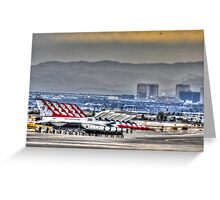 Sunset on the Strip Greeting Card