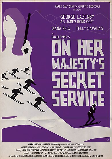 On Her Majesty's Secret Service by AlainB68