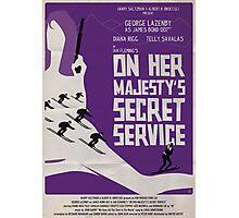 On Her Majesty's Secret Service Photographic Print