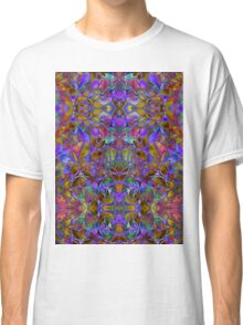 Fractal Floral Abstract Classic T-Shirt