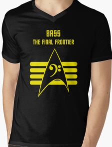 Bass -- The Final Frontier Mens V-Neck T-Shirt