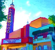 """Lakewood Theater"" by kcd-designs"