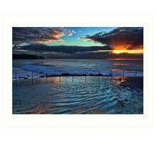Bronte Sunrise Art Print