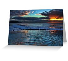 Bronte Sunrise Greeting Card