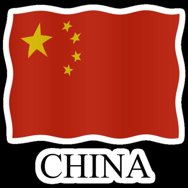 China flag by stuwdamdorp