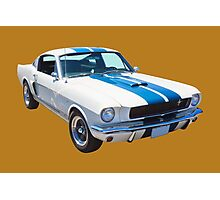 1965 GT350 Mustang Muscle Car Photographic Print