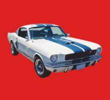 1965 GT350 Mustang Muscle Car Kids Tee