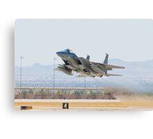 F-15C Eagle #AF 80-0028 Taking Off Canvas Print