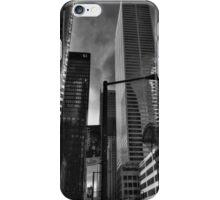 Downtown Toronto 004 BW iPhone Case/Skin