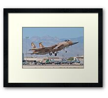 F-15C Eagle #WA AF 80-0024 Lifting Off Framed Print