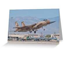F-15C Eagle #WA AF 80-0024 Lifting Off Greeting Card