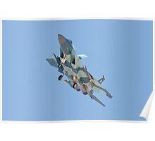 F-15C Eagle #WA AF 80-0018 Poster