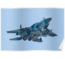 Head On WA AF 78-0485 F-15C Eagle Poster