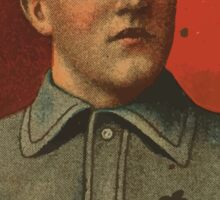 Benjamin K Edwards Collection Jimmy Burke Indianapolis Team baseball card portrait Sticker