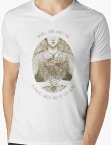 When I think about you Mens V-Neck T-Shirt