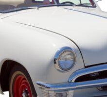 1950  Ford Custom Antique Car Sticker