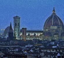Florence by Night by Haggiswonderdog