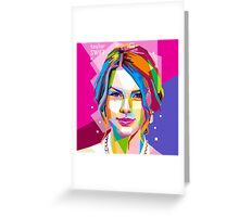 TAILOR SWIFT WPAP DED 02 Greeting Card