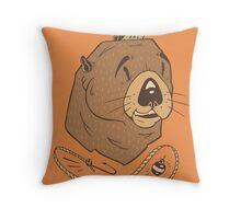 Sea Fairing Otter Throw Pillow