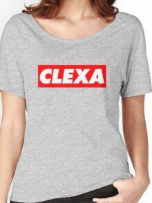 Clexa - white Women's Relaxed Fit T-Shirt