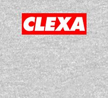 Clexa - white Womens Fitted T-Shirt