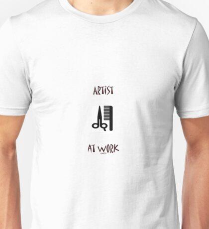 Artist at work Unisex T-Shirt