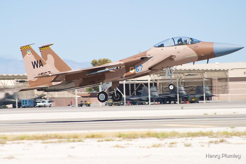 F-15D Eagle #WA AF 78 0567 Taking Off by Henry Plumley