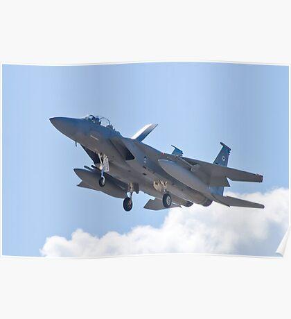 F-15D Eagle, #TY AF 80 0056 Landing Poster
