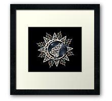 Wolf Emblem Framed Print