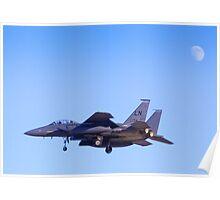 LN AF 98-134 F-15E Strike Eagle Poster