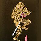 golden samurai's suriphobia by cintrao