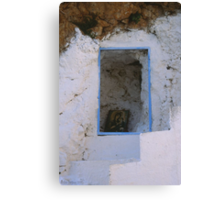 Crete - Stairways to heaven Canvas Print