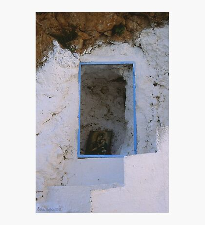 Crete - Stairways to heaven Photographic Print