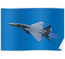 SJ AF 87 0179 F-15E Strike Eagle Left Bank  Poster