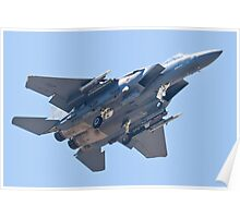 WA AF 90-0251, F-15E Strike Eagle Poster