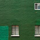 Green Wall in Pittsburgh by Dan Lauf