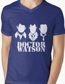 Doctor Watson Trio Mens V-Neck T-Shirt