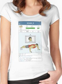 Bollygram - Rohan (K3G) Women's Fitted Scoop T-Shirt