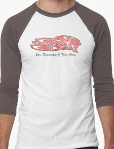 stray sheep Men's Baseball ¾ T-Shirt