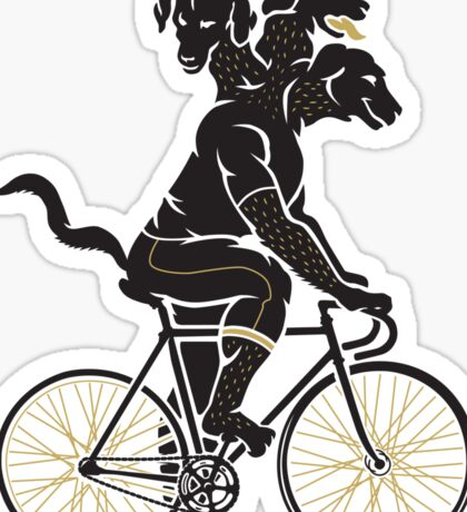 fixed gear Sticker