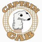 Captain Cab STICKER. by Area51
