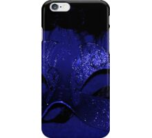 Masquerade in Blue iPhone Case/Skin