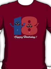 HAPPY BIRTHDAY 18 T-Shirt