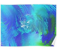 Whirlwind by R.A.M. Abstract Painting Poster